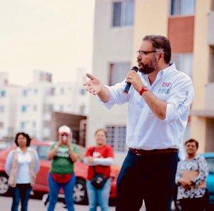 Manuel Pozo a la alza; aventaja preferencias en el III distrito federal
